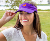 Royal Purple Visor with Orange Duck