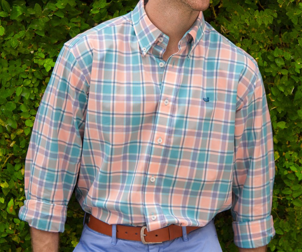 Brevard Plaid Dress Shirt