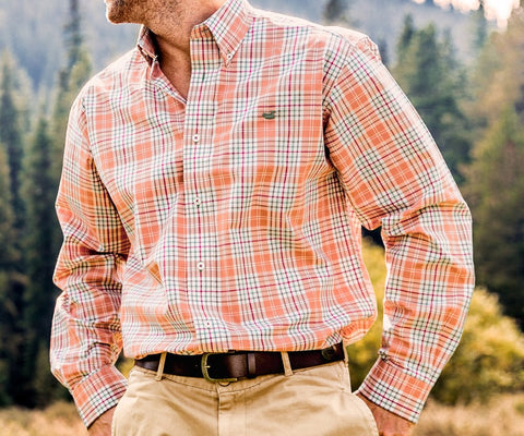 Dobbs Check Dress Shirt - Wrinkle-Free