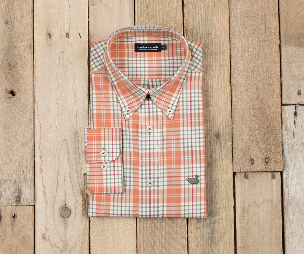 Dobbs Check Dress Shirt