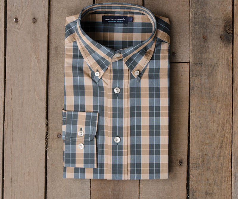 Exchange Check Dress Shirt - Wrinkle Free