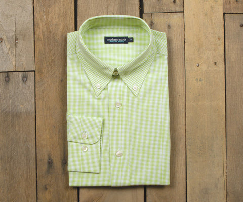 Youth Gadwall Gingham Dress Shirt