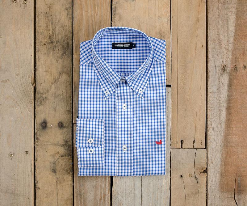 Nashville Gingham Dress Shirt