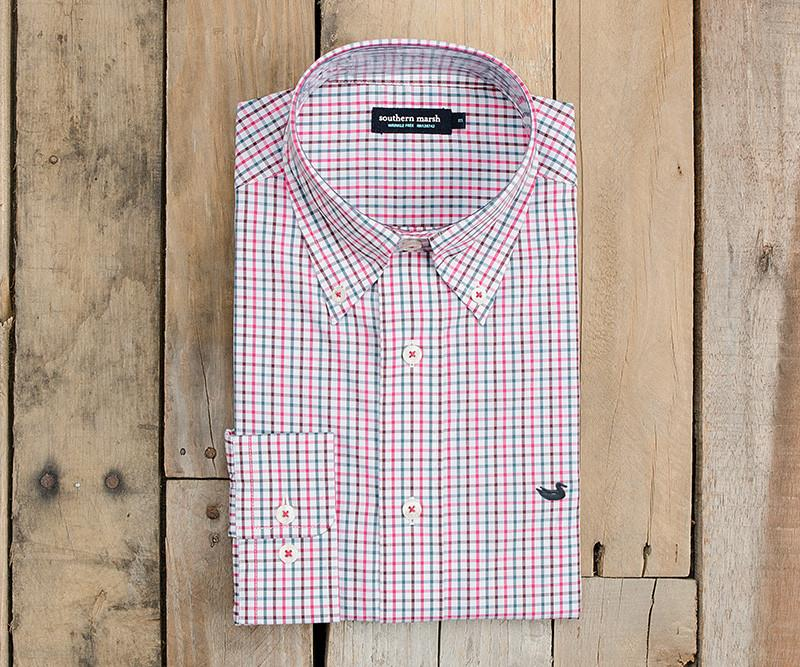 Nottoway Check Dress Shirt - Wrinkle Free