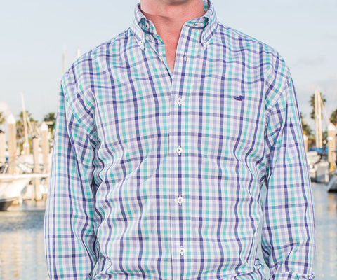 Reynolds Gingham Dress Shirt