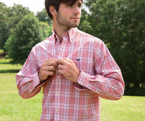Sutton Plaid Dress Shirt