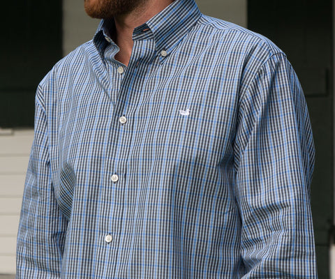 Toulouse Gingham Dress Shirt - Wrinkle-Free