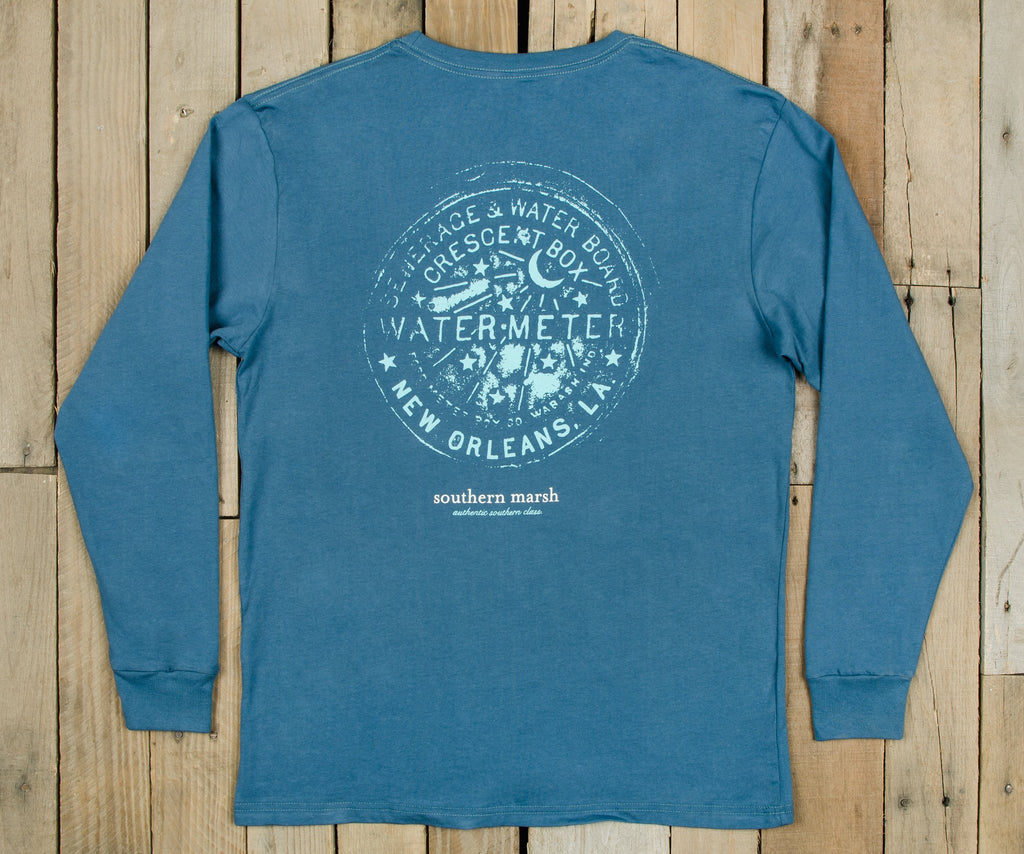 Water Meter Tee - Long Sleeve