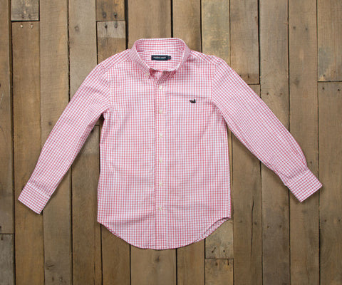 Youth Mallard Tattersall Dress Shirt