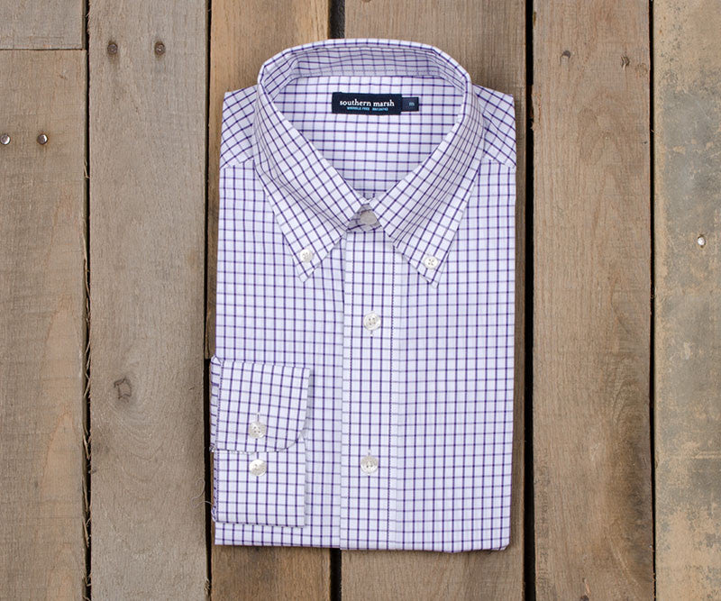 Mallard Tattersall Dress Shirt - Wrinkle Free
