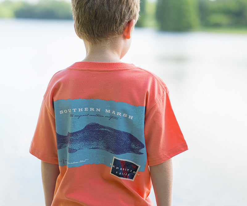 Youth Expedition Series Tee - Rainbow Trout