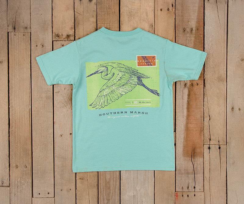 Youth Expedition Series Tee - Heron