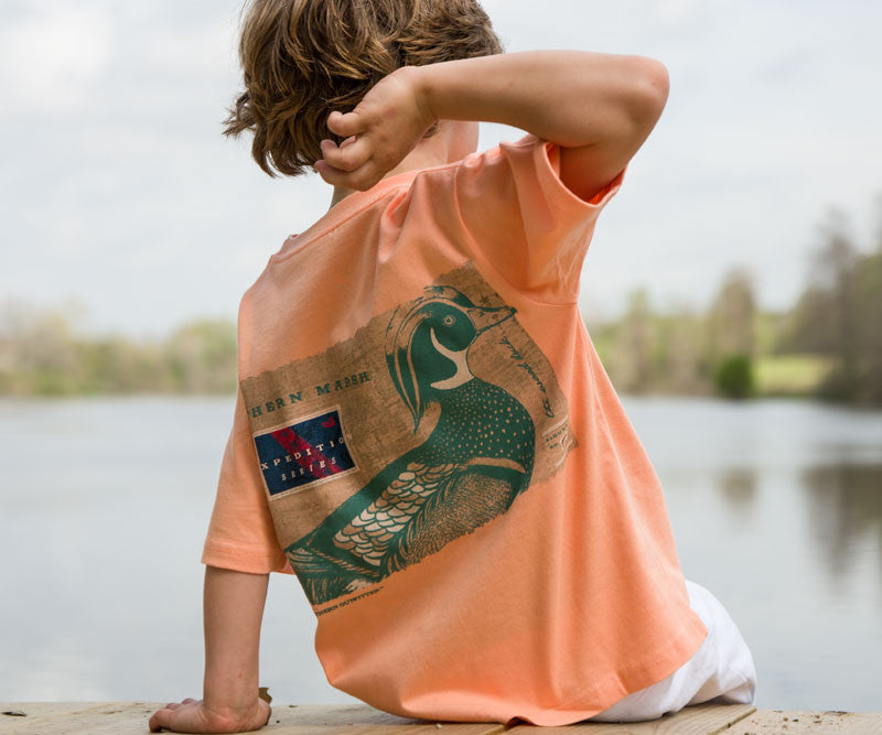 Youth Expedition Series Tee - Wood Duck