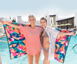 Peach Flamingo | Flamingo Beach Towel | Lifestyle