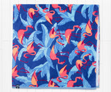 Slate Flamingo | Flamingo Beach Towel