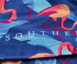 Slate Flamingo | Flamingo Beach Towel | Detail