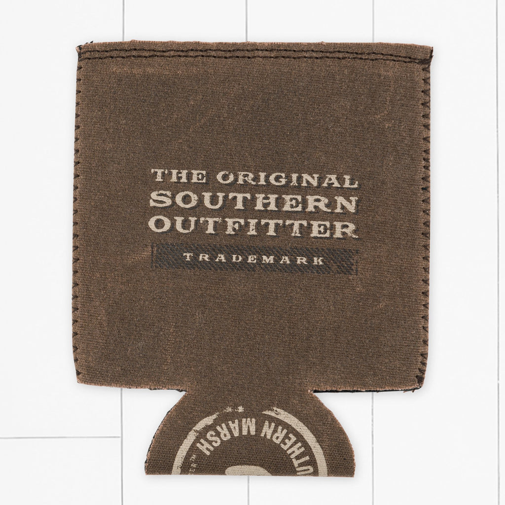 Brown | Waxed Cotton Coozie