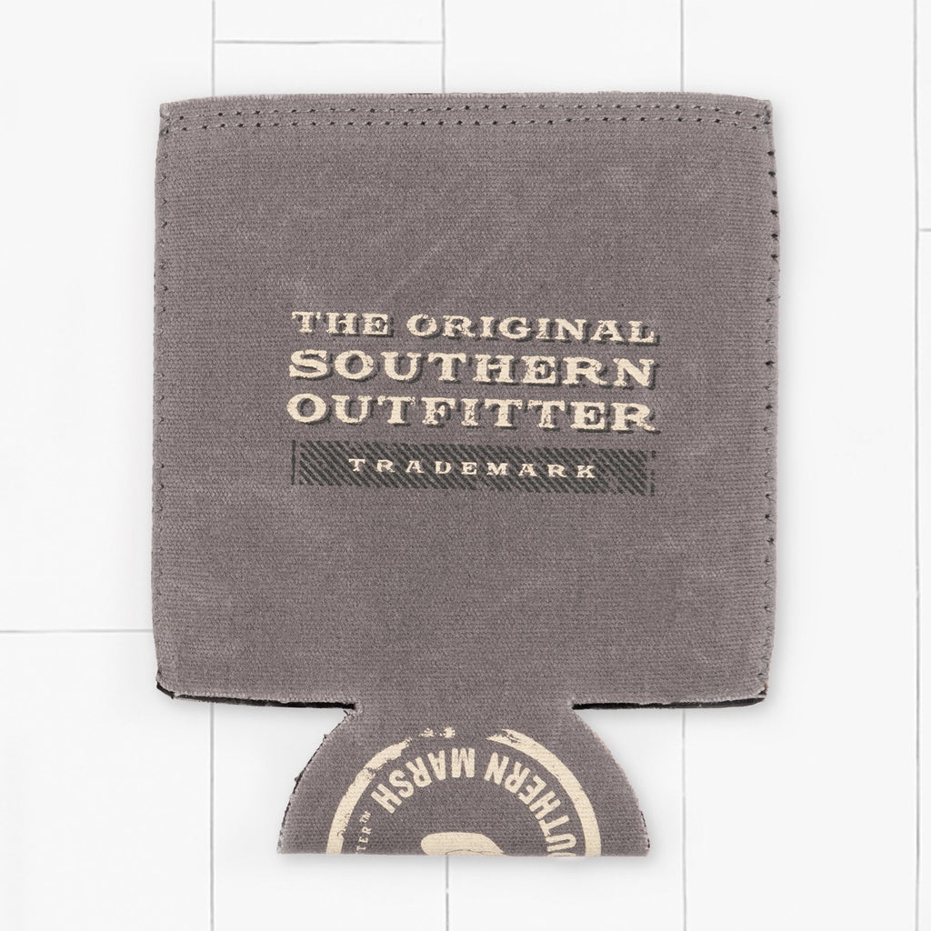 Light     Gray | Waxed Cotton Coozie