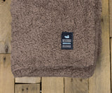 Light Brown with Oatmeal | Watson Pile Sherpa Blanket