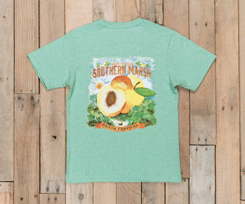 Youth Festival Series Tee - Peach