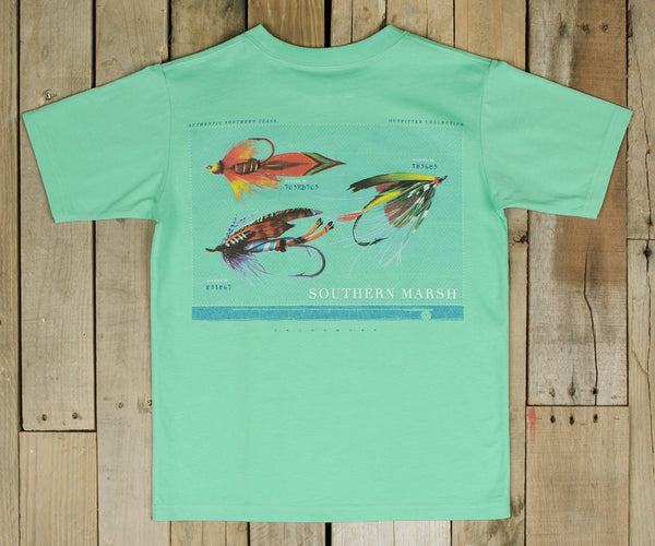 Southern marsh collection youth outfitter series tee for Southern marsh dress shirts on sale
