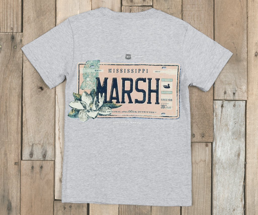 Youth Backroads Collection Tee - Mississippi