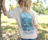 Washed Oatmeal | Youth Relax & Explore Tee | Canoe