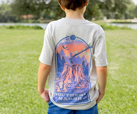 Youth Relax & Explore Tee - Axe