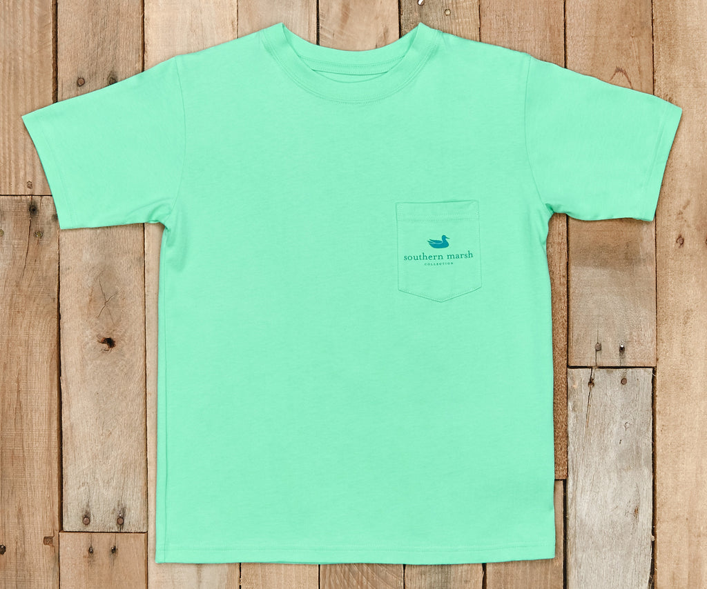Youth River Route Collection Tee - Paddles