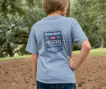 Youth Southern Tradition Crest Tee