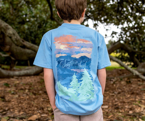 Youth Southern Horizons Tee - Blue Ridge