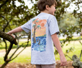 Light  Gray | Youth Southern Horizons Tee | Cypress | Youth Short Sleeve T-Shirt