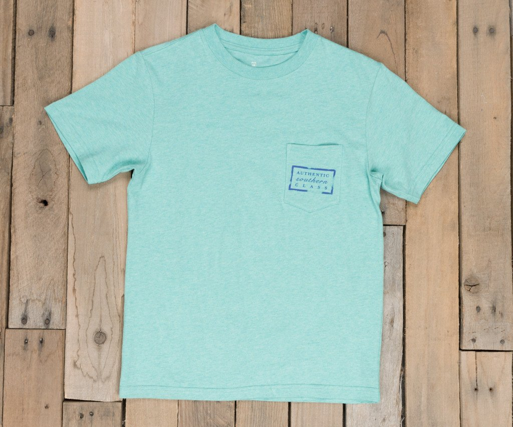 Youth Authentic Vibrant Tee - Heather