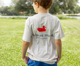 Washed Oatmeal | Youth Authentic Tee | Heather | Short Sleeve T-Shirt | Kids Southern Duck Shirt