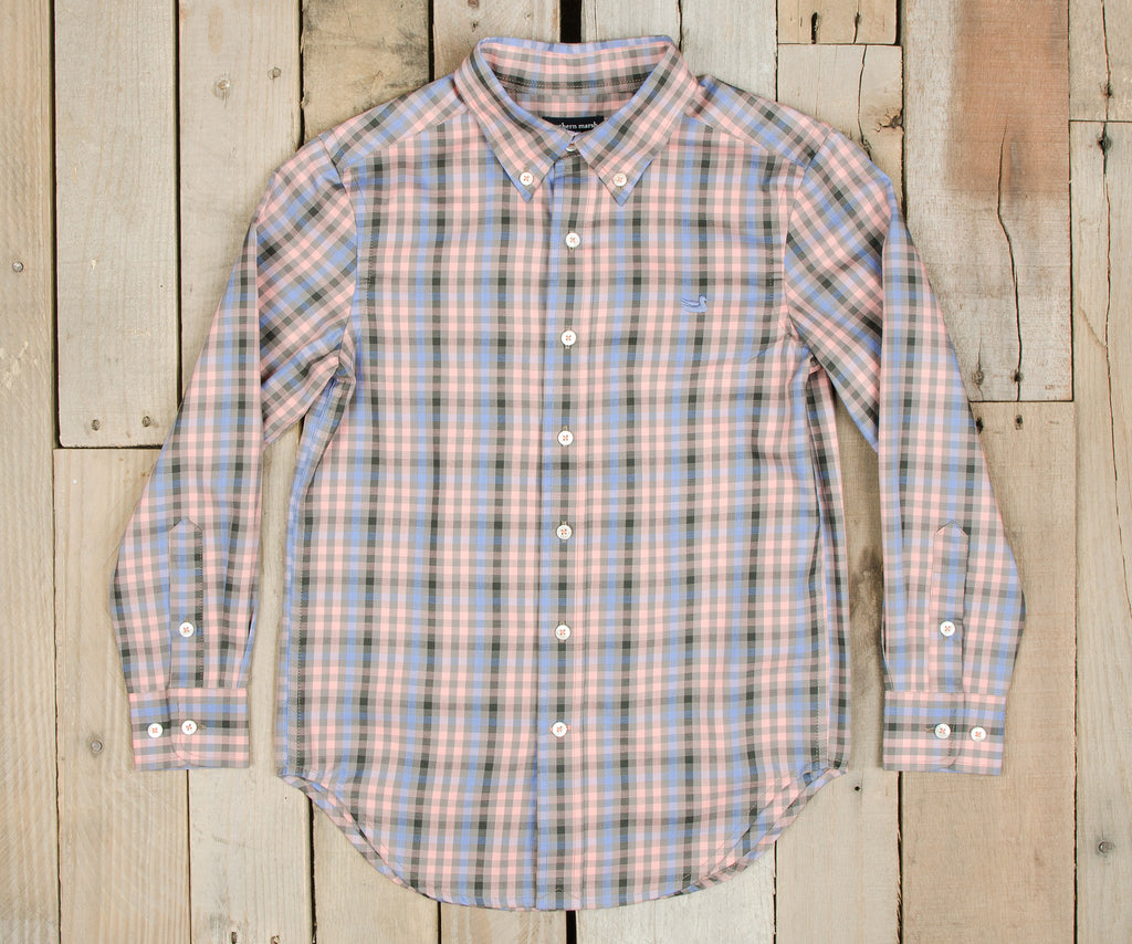 Youth Cumberland Plaid Dress Shirt