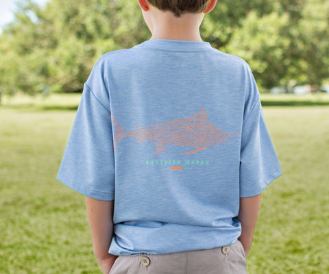 Youth FieldTec™ Performance Tee - Marlin