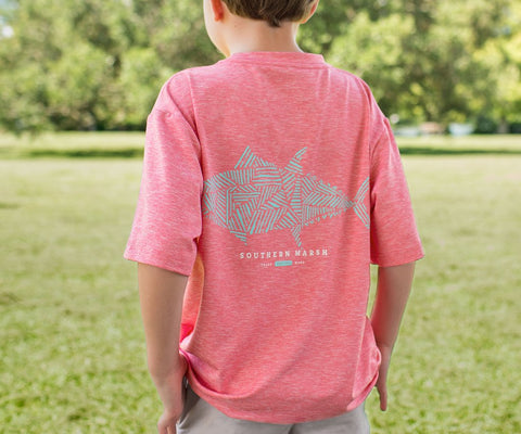 Youth FieldTec™ Performance Tee - Tuna