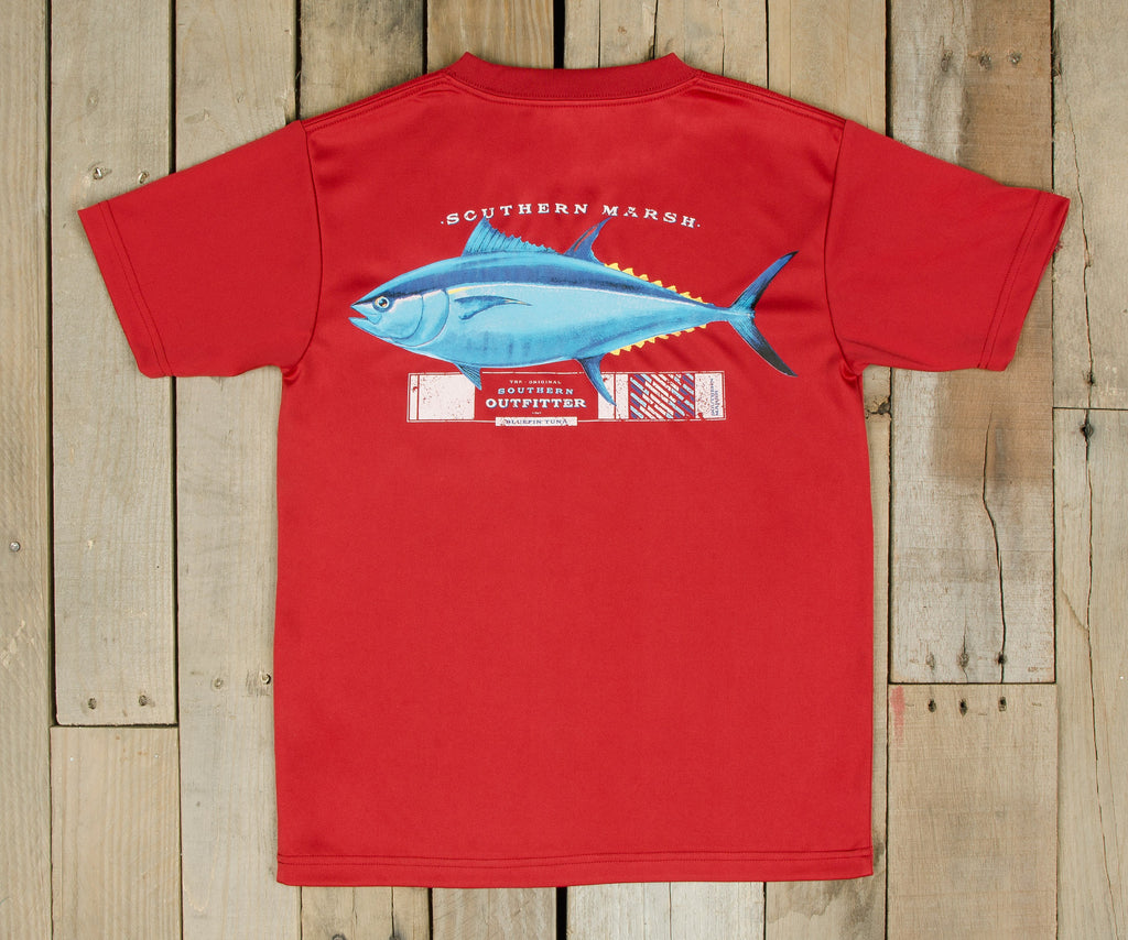 Youth FieldTec™ Outfitter Collection Tee - Tuna