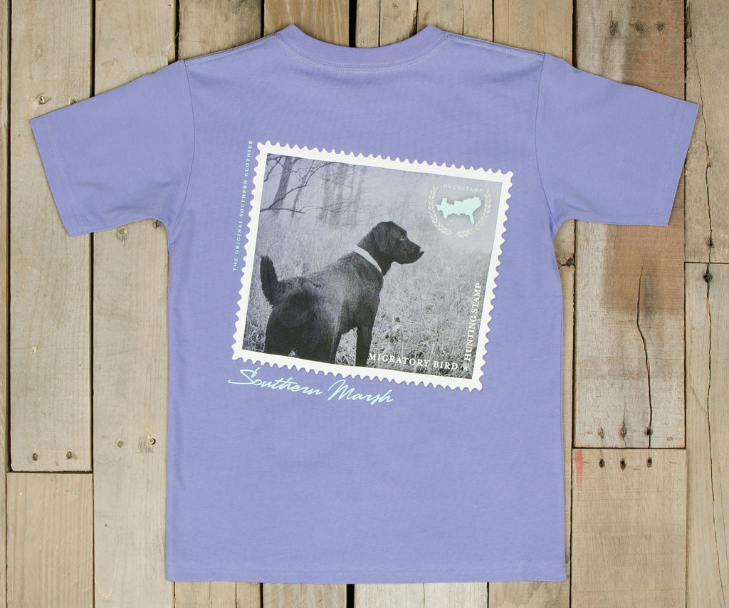 Youth Black Lab Tee