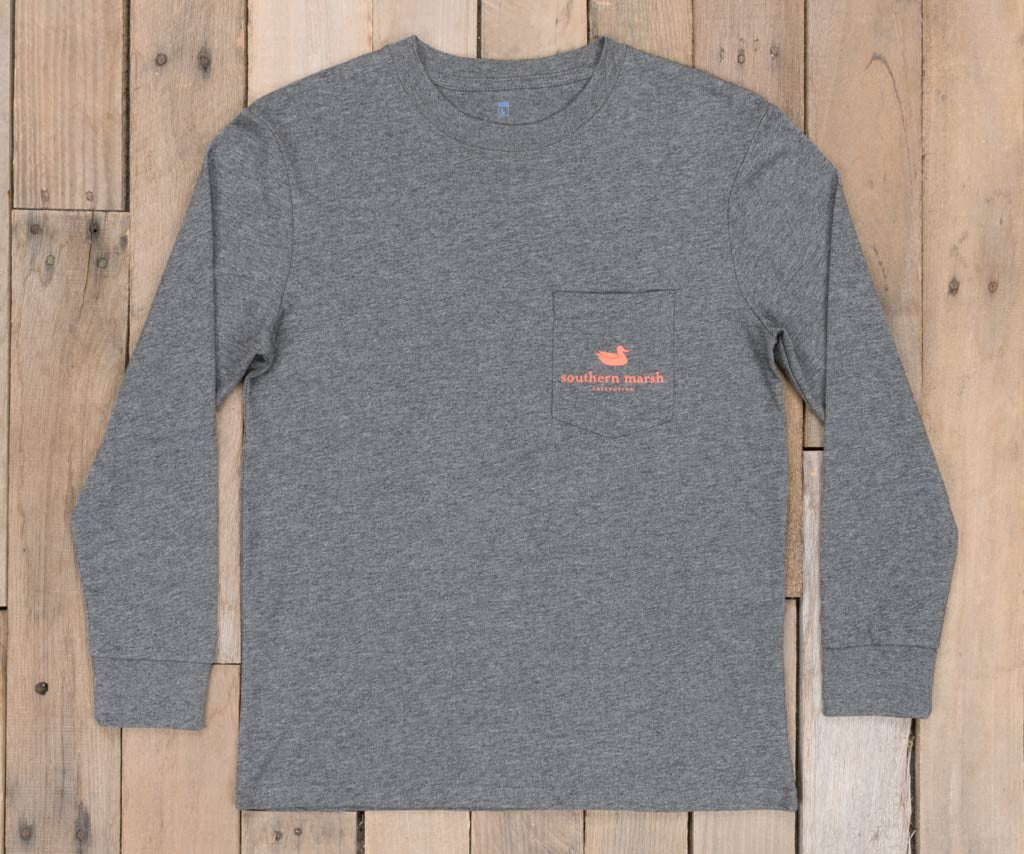 Youth Branding Collection Tee - Flying Duck - Long Sleeve