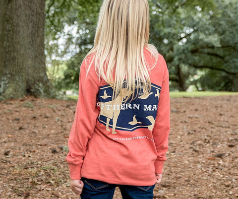 Youth Branding Collection Tee - Hunting Dog - Long Sleeve