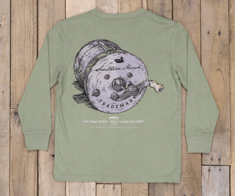 Youth Southern Class - Fishing Reel - Long Sleeve