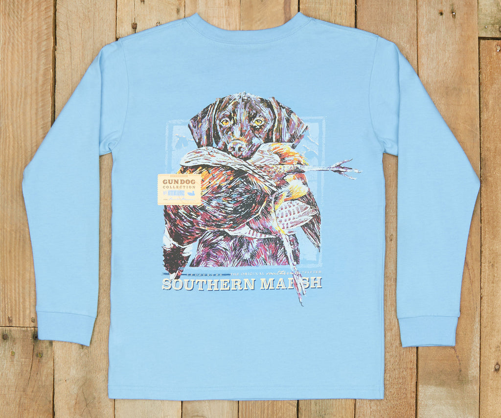 Youth Gun Dog Collection Tee - Two - Long Sleeve