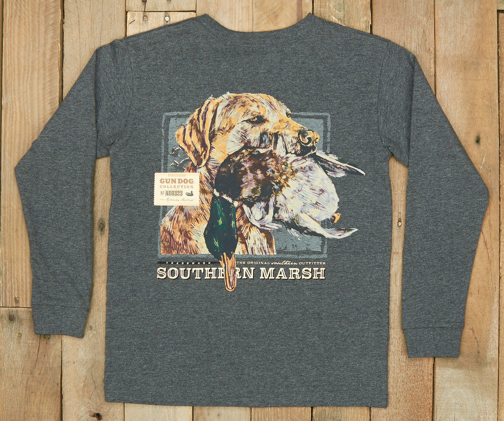 Youth Gun Dog Collection Tee - Three - Long Sleeve