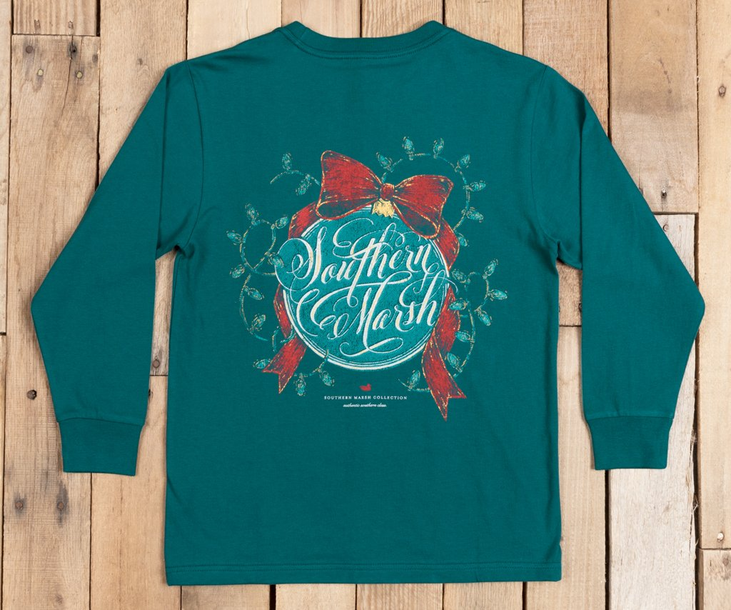 Youth Signature Ornament Tee - Long Sleeve