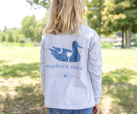 Youth Authentic Heritage Tee - South Carolina - Long Sleeve