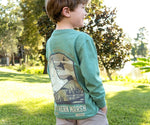 Youth Vistas Mallard Tee - Long Sleeve