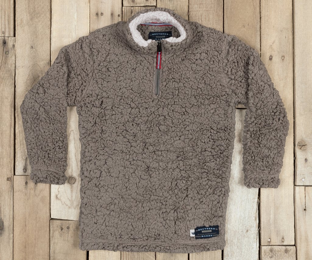 Youth Appalachian Pile Sherpa Pullover