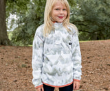 White and Gray | Youth North Basin Pullover