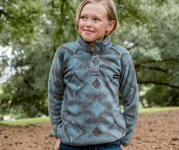 Youth Pueblo Aztec Pullover